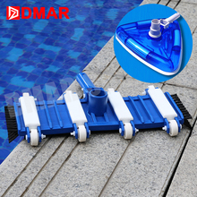 "DMAR Swimming Pool Flexible Vacuum Head with Brush Cleaner l40cm/8"" 30cm/12"" Pool Spa Equipment Sewage Suction Pool Accessories(China)"