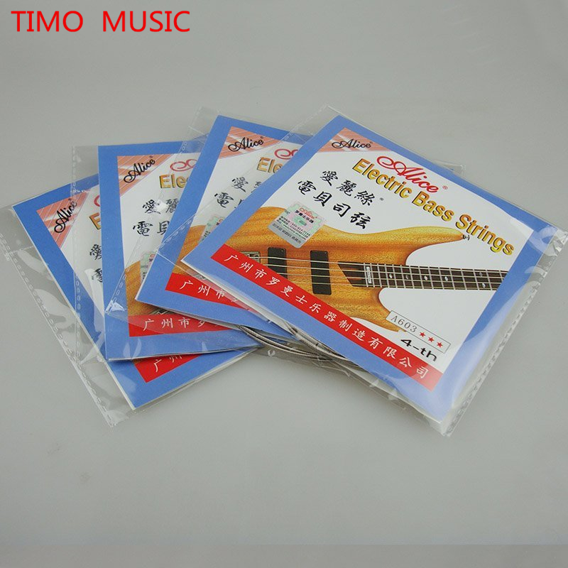 Alice A603-M Electric Bass Strings 4 Strings Bass Nickel Alloy Wound 045-105 Free Shipping Wholesales<br><br>Aliexpress