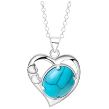 turquoise 925 jewelry silver free shipping Fashion jewelry gem Necklace pendant  PN592