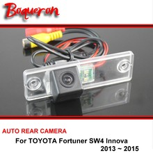 For TOYOTA Fortuner SW4 / Innova 2005~2015 Rear View Camera Reversing Camera Car Back up Camera HD CCD Night Vision(China)