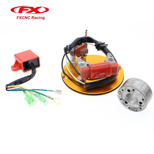 Inner Rotor Kit Racing Magneto Stator CDI Red For CRF50 CRF 50 XR XR50 70 Z SDG 125CC Ignition Pit Dirt Bike ATV Quad Thumpstar