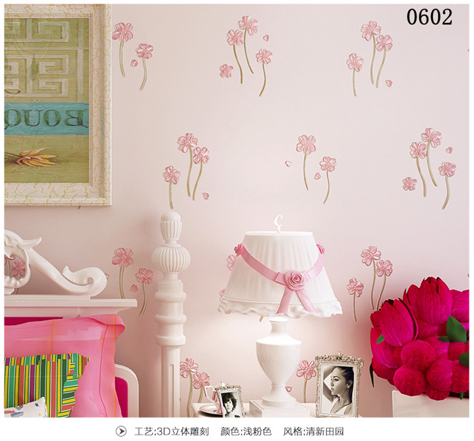 10m Victorian Country Style 3d Flower Wallpaper Background for Kids Room Mural Rolls Wallpapers for Livingroom Wall Paper Decal<br>