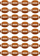 32 Football SOCCER Edible cake topper wafer rice paper cake cookie Cupcake topper Birthday wedding cake decor party supplier