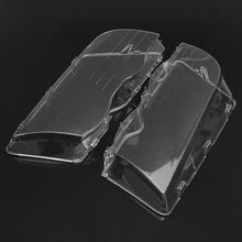 1 Pair Transparent Car Housing Headlight Lens Shell Cover Lamp Assembly For BMW E46 3-Series /4DR /Wagon /Sedan 1999 -2001