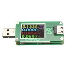 ZY1270 Bluetooth Colorful TFT USB Power Tester Capacity Table QC2.0 QC3.0 Free Shipping
