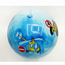 22CM Bouncing Ball toys Inflatable PVC colorful Cartoon Animal Car Jumping Bounce stress balls Kids for Christmas party gift