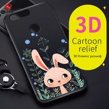 ASINA Cartoon Cat Case For Huawei Honor 8 Cute Silicone Case Cover With Free Rope Soft Coque Capa For Huawei Honor 9(China)
