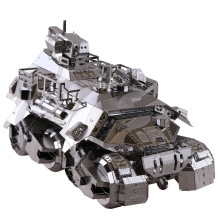 3D Metal Puzzle Iron Pioneer Armored Cars YM-N013 Building Model DIY 3D Laser Cut Assemble Jigsaw Toys For Audit