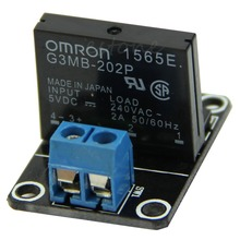 5V 1 Channel OMRON SSR High Level Solid State Relay Module 250V 2A For