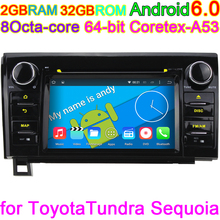 Android 6.0 Octa Core Car DVD  Player For Toyota Toyota Tundra 2007 2008 2009 2010 2011 2012 2013 Sequoia 2014 2015 Radio GPS PC
