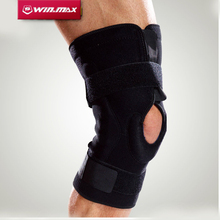 Winmax Professional Protection for The Sports Hinged Knee Brace Adjustable Sports Leg Knee Support Knee Pads(China)