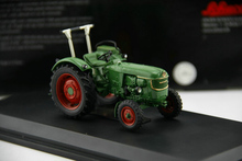 Out of print SCHUCO 1:43 Model of a Deutz D40 L Alloy Tractor Agricultural machinery model Boutique collection model