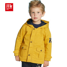 jjlkids baby jacket 2016 new arrival infant jackets kids coat newborn baby outwear hooded baby poncho baby boy clothes fashion(China)