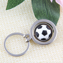 2017 Fashion Men Girls Gifts 3D Ball Keychain For Bag Key Holder Charm Phone Hanging pendant Car Key Chains Key Ring Women & Men