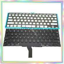 "Brand new US Keyboard with Backlight for Macbook Air 11.6"" A1370 A1465 2011-2015 Years(China)"