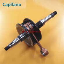motorcycle AF34 ZX50 crankshaft with connecting rod for Honda 2 stroke 50cc ZX 50 crank shaft spare part(China)