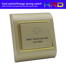 Hotel Guest Keycard Holder Apartment Energy Saver With Room Number And Time Limits Low Frequency RFID 125KHz Type