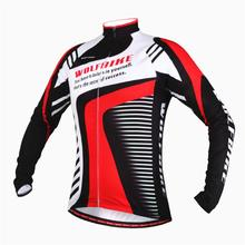 WOLFBIKE Clothing Breathable Mountain Bike MTB  jersey Long Sleeve Thin Fleece Jersey Cycle jacket women Coat roupas ciclismo