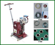 Durable automatic double ring eyelet punching machine(China)