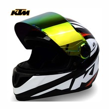 KTM combinat sports safety riding racing helmet motorcycle helmet safety protection 4 season anti fog riding safety helmet