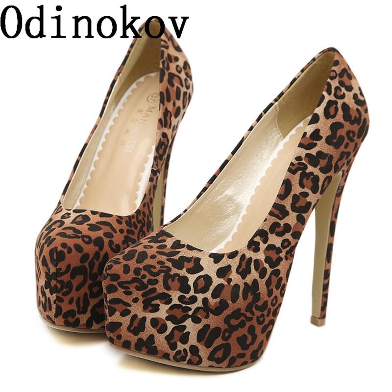 Odinokov 2017 Spring And Summer Fashion  16CM Ultra Ladies High Heels Platform Heels  Wedding Party Pumps<br>