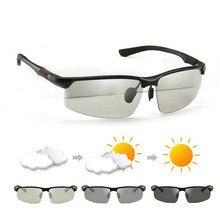 VIPEYE бренд Алюминий магния вождения фотохромные очки Для мужчин  поляризационные Хамелеон солнцезащитные очки Óculos де sol mas. 2d4c9548202