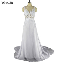 Buy Beach Wedding Dresses 2018 Sexy Vintage Boho Wedding Gowns Backless Lace Appliques Chiffon Bride Dresses Bridal Gowns Plus Size for $109.90 in AliExpress store