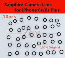 "10pcs Original Camera Glass Lens for iPhone 6S/ 6S Plus;Sapphire Crystal Single Glass Without Frame for iPhone 6S 4.7""/ 5.5"""