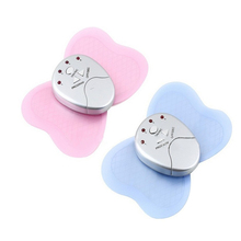 Mini Butterfly Design Body Muscle Massager Electronic Slimming Massager For Fitness 4 LED Lights Display  Muscle Relax HS11