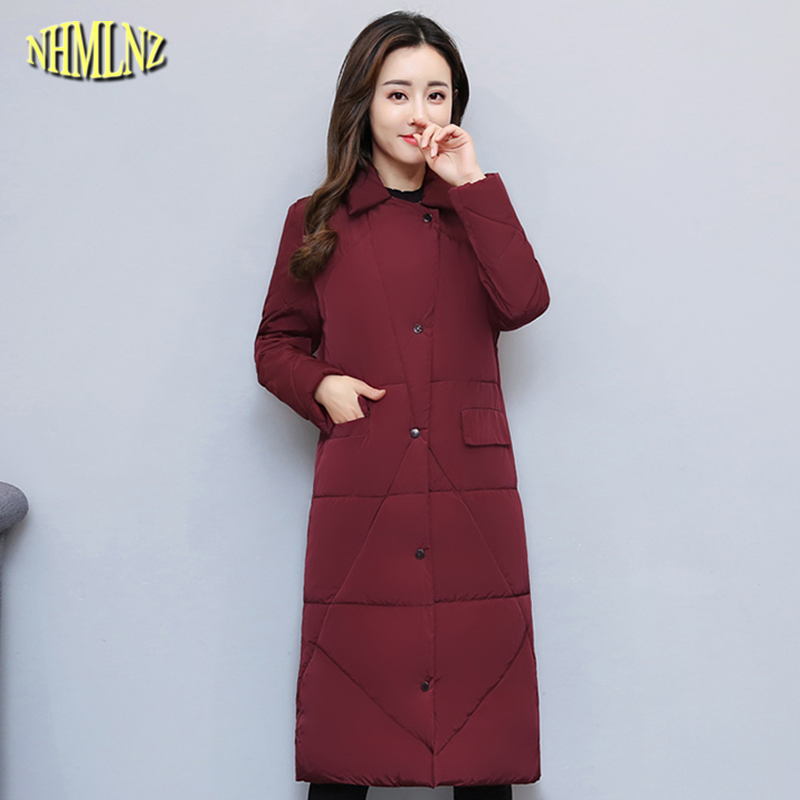 Winter Women Jacket Fashion Slim Warm Long Cotton coat  Korean style Casual Elegant Students Solid color Female Outerwear WK329Îäåæäà è àêñåññóàðû<br><br>