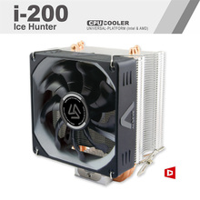 ALSEYE i-200 CPU Cooler 3 Heatpipes TDP 215W with PWM 4 pin 800-2000RPM 90mm Cooling Fan High Performance Silent Radiator(China)
