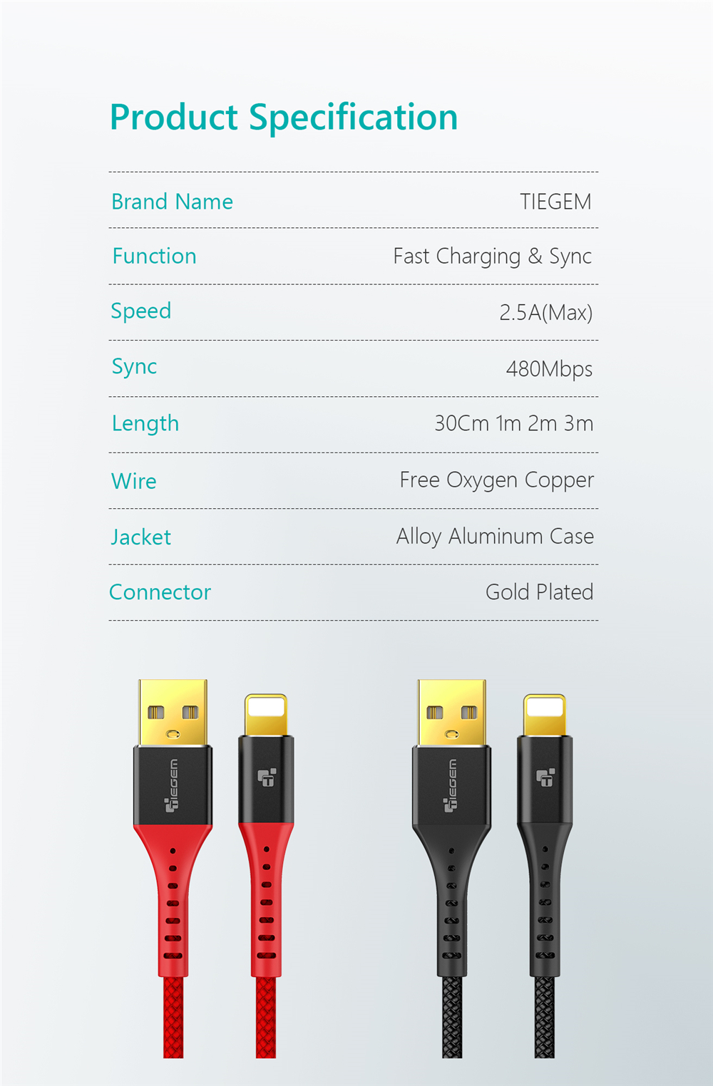 iPhone cable 11047 11