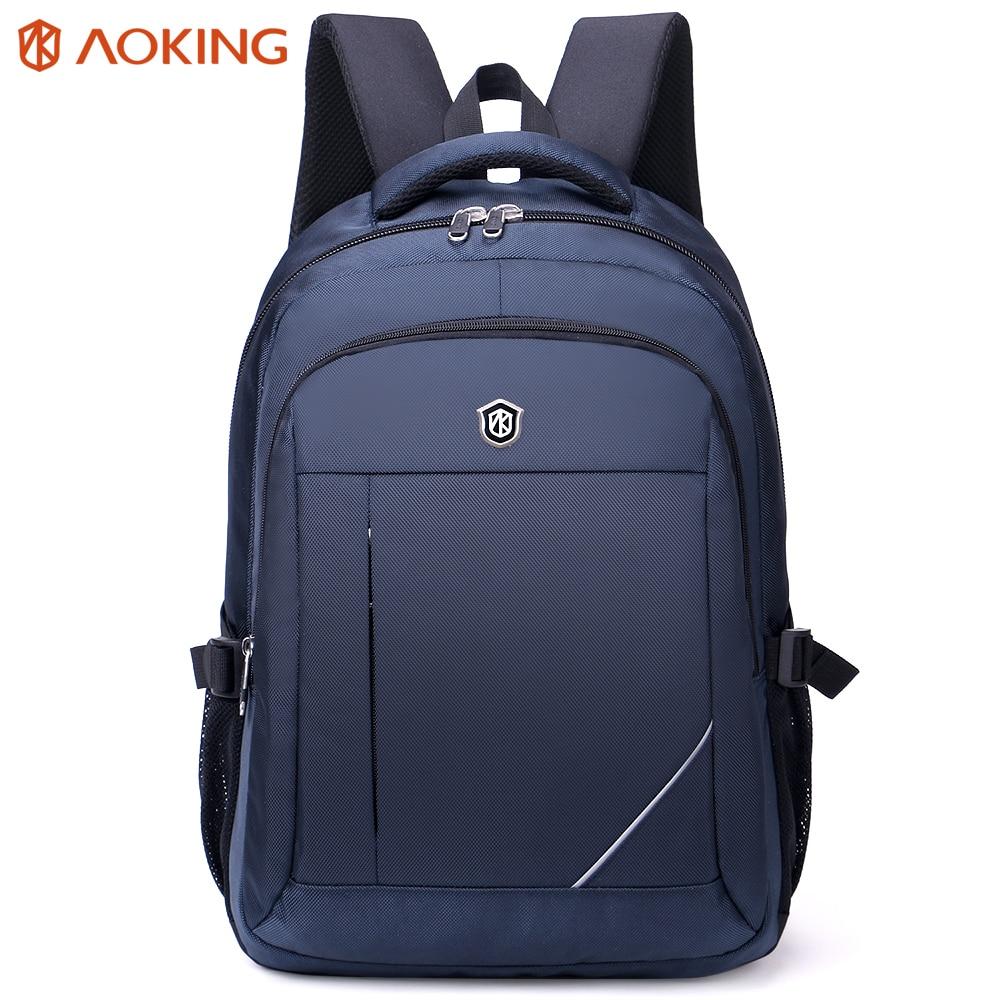 Aoking Lightweight Travel Backpack Men Simple Business Backpack Large Capacity Laptop Backpack Computer Rucksack School Bag<br>