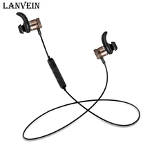 Buy LANVEIN metal Bluetooth headphones wireless headset sport bass stereo earphone microphone music earbud iphone samsung for $17.99 in AliExpress store