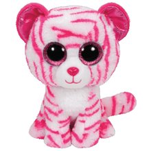 "Pyoopeo Ty Beanie Boos 6"" 15cm BUDDY Asia the Tiger Plush Stuffed Doll Toy Collectible Big Eyes Puppy Dolls Toys"