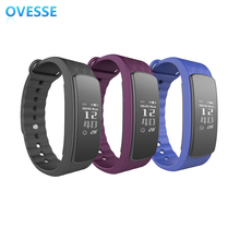Alibaba Best Sellers CE RoHS Cheapest Heart Rate Monitor Smart Bracelet With USB Charging Directly(China)