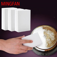 magic sponge Kitchen sponges eraser office kitchen clean bathroom cleaning accessory / plate melamine sponge nano 1-30PCS q888(China)