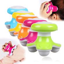 Mini Wave Vibrating Massager USB Battery Electric Handled Full Body Massage 88 @ME88(China)