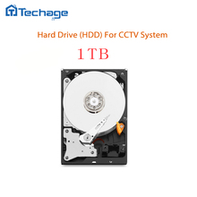 Techage Desktop Computer Hard Disk Drive HDD 1TB 1000GB 64MB 7200rpm sata3 for CCTV DVR NVR Security Camera System Kits