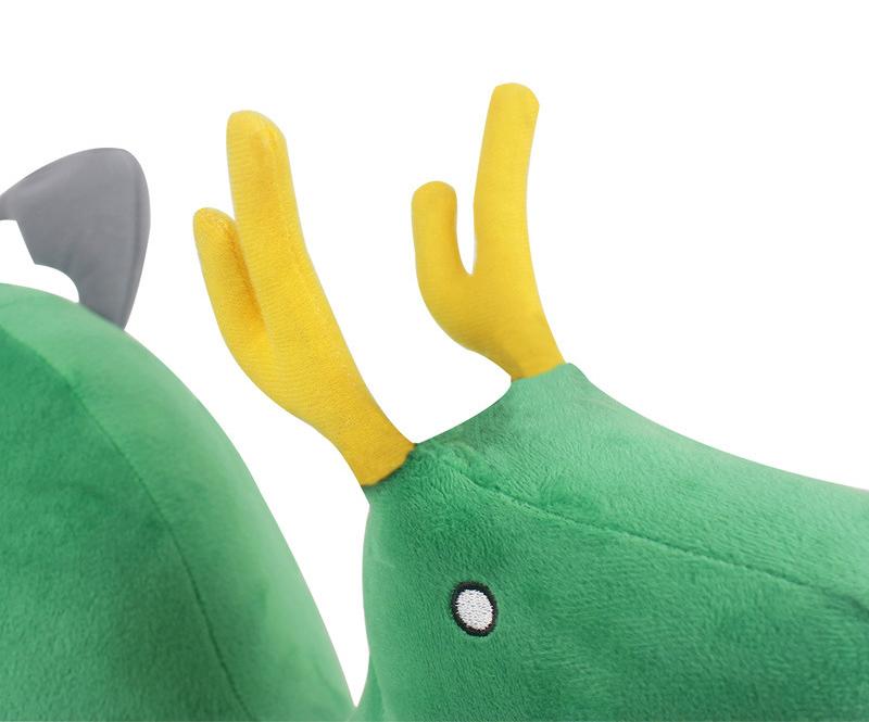 35cm Anime Miss Kobayashi's Dragon Maid Dinosaur Plush Toys Soft Kobayashi-san Chi no Maid Dragon Kanna Kamui Stuffed Dolls Gift (5)