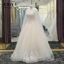 I Bay U Full Beading Appliques Lace Wedding Dresses 100% Real Photos High Quality Strapless Ball Gown Wedding Dress 2016 Jacket