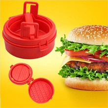 As seen on TV Latest High quality hamburger maker Hamburg Stuffing maker Manual pressure meat for home Kitchen cooking supplies