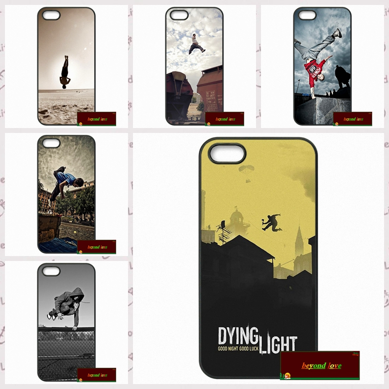 Stunning Sports Action Parkour Cover case for iphone 4 4s 5 5s 5c 6 6s plus samsung galaxy S3 S4 mini S5 S6 Note 2 3 4  DE0220
