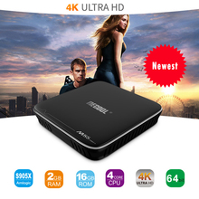 Best Mecool M8S PRO+ Smart TV Box 2GB DDR3 16GB Android 7.1 Amlogic S905X Quad-core 2.4G WIFI H.265 UHD 4K Media Player M8SPRO+(China)