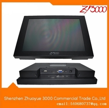 "2017 Serial New Hmi Price 10.4"" 800*600 Open Frame Metal Casing Vga Dc12v Input Resistive Touchscreen Monitor For Industrial"