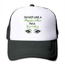 DUTRODU For Men Women Baseball-caps Meshback I'm Not Like A Regular Mom I'm A Cool Mom Hat Caps hip hop hat vary colors fitted(China)