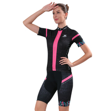 2017 Jersey Sets Women Short Sleeve Summer Breathable Cycling Clothing MTB Bike Wear Bicycle Ropa Maillot Jerseys Kit Summer