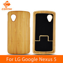 CORNMI For LG Nexus 5 Brand New Arrival Wood Design Pouch Hard Case For LG Google Nexus 5 Capa Protect Shell ITH(China)