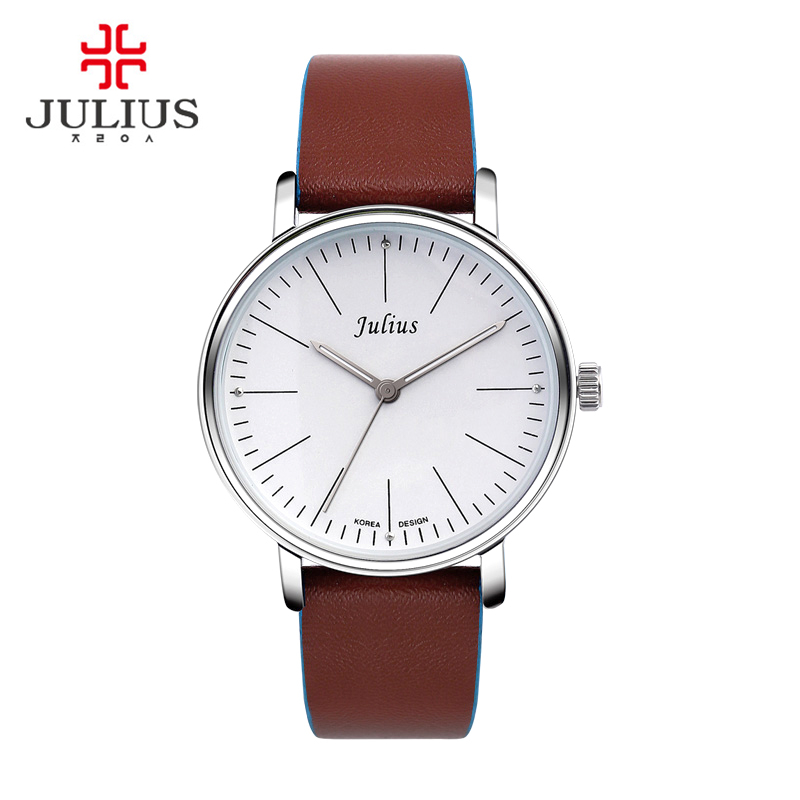 Julius Homme Mens Watch Japan Quartz Hours Top Fashion Dress Bracelet Leather Boy Birthday Lovers Valentine Gift Box 814<br><br>Aliexpress