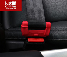 Silicone Car Safety Belt Protective Sleeve For Land Rover Discovery 5 Discovery 4 Discovery Sport 2015 2016 2017 Car Styling